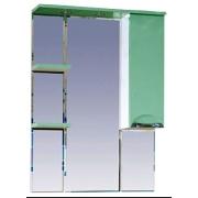 Misty Зеркальный шкаф Жасмин 75 R салатовый, эмаль