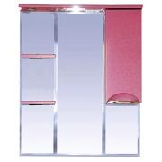 Misty Зеркальный шкаф Жасмин 85 R розовый, пленка