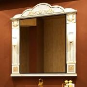 Misty Зеркало для ванной Барокко 100 бежевая патина