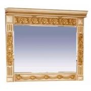 Misty Зеркало для ванной Беатрис 120 бежевая патина