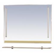 Misty Зеркало для ванной Джулия 120 бежевое