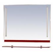 Misty Зеркало для ванной Джулия 120 бордо