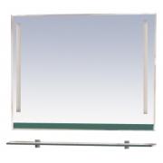 Misty Зеркало для ванной Джулия 120 зеленое