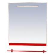 Misty Зеркало для ванной Джулия 65 красное