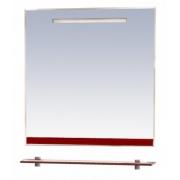 Misty Зеркало для ванной Джулия 75 бордо