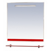 Misty Зеркало для ванной Джулия 75 красное