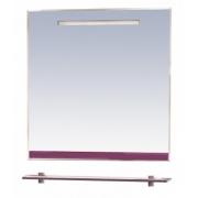 Misty Зеркало для ванной Джулия 75 сиреневое