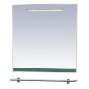 Misty Зеркало для ванной Джулия 75 зеленое