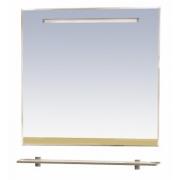 Misty Зеркало для ванной Джулия 90 бежевое