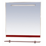 Misty Зеркало для ванной Джулия 90 бордо