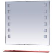 Misty Зеркало для ванной Эллада 90 красная полка
