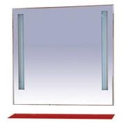 Misty Зеркало для ванной Лика 90 красная полка