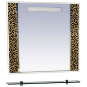 Misty Зеркало для ванной Марокко 90 орнамент