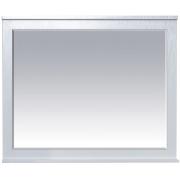 Misty Зеркало для ванной Марта 100 белое фактурное