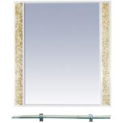 Misty Зеркало для ванной Морена 75 золотая мозаика