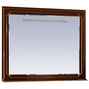 Misty Зеркало для ванной Praga 120 бордо патина