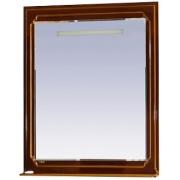 Misty Зеркало для ванной Praga 75 бордо патина