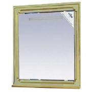 Misty Зеркало для ванной Praga 75 салатовый/патина