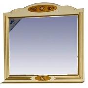 Misty Зеркало для ванной Roma 120 бежевая патина