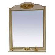 Misty Зеркало для ванной Roma 90 бежевое, патина