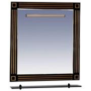 Misty Зеркало для ванной Venezia 75 черная патина