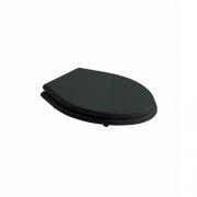 Крышка-сиденье Galassia Ethos (8482NE) (из дерева и пластика, черный) микролифт