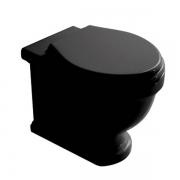 Унитаз приставной Galassia Ethos (8437NE) черный