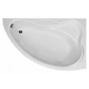 Акриловая ванна Bas Вектра 150 см R с каркасом