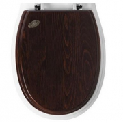 Крышка-сиденье Simas Arcade (AR004) (петли хром) орех