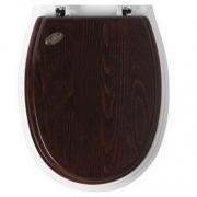 Крышка-сиденье Simas Arcade (AR005BRONZO) (петли бронза) орех