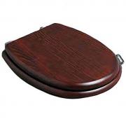 Крышка-сиденье Simas Lante (LA009noce/br) дерево (петли бронза) микролифт