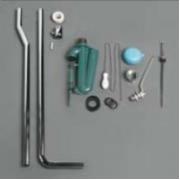 Механизм слива с трубой Simas Arcade (R01) для высокого бачка (хром)
