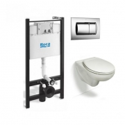 Инсталляция Roca Active WC ПЭК (893100000) в комплекте с унитазом Roca Victoria микролифт