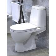 Унитаз напольный Sanita Max с крышкой-сиденьем микролифт MAXSLCC01040513